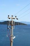 παροχή ηλεκτρικού ρεύματ&omi Στοκ Εικόνες