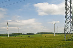 παροχή ηλεκτρικού ρεύματ&omi Στοκ εικόνες με δικαίωμα ελεύθερης χρήσης