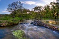 παρούσα άνοιξη ποταμών Στοκ εικόνες με δικαίωμα ελεύθερης χρήσης