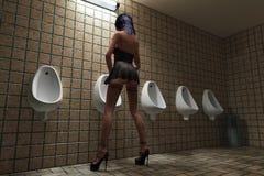 παρωδία τουαλετών ατόμων s στοκ φωτογραφίες με δικαίωμα ελεύθερης χρήσης