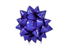 Παρόν αιφνιδιαστικό τόξο δώρων επετείου Τόξο επετείου ημέρας βαλεντίνων Χριστουγέννων γενεθλίων ή για οποιαδήποτε έννοια υψηλός στοκ εικόνα με δικαίωμα ελεύθερης χρήσης