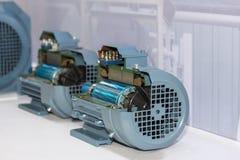 Παρόν εσωτερικό διατομής του βιομηχανικού ηλεκτρικού κινητήρα στην αποθήκευση εργοστασίων στοκ φωτογραφία με δικαίωμα ελεύθερης χρήσης