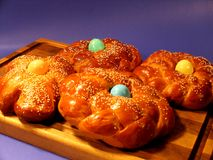 πασπαλίστε το γλυκό με ψί&c Στοκ Εικόνες