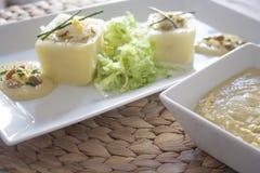 πατάτα που γεμίζεται Στοκ φωτογραφία με δικαίωμα ελεύθερης χρήσης