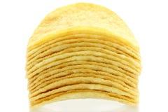 πατάτα σωρών τσιπ Στοκ Φωτογραφία
