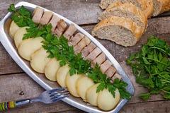 πατάτα ψαριών Στοκ φωτογραφία με δικαίωμα ελεύθερης χρήσης