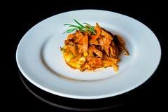Πατάτες για τη μαγειρευμένη γλώσσα χοιρινού κρέατος Στοκ φωτογραφία με δικαίωμα ελεύθερης χρήσης