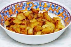 πατάτες που ψήνονται Στοκ εικόνα με δικαίωμα ελεύθερης χρήσης