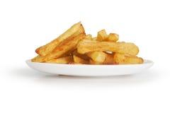 Πατάτες φλούδας Στοκ Φωτογραφία