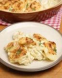 Πατάτες Dauphinois ή Gratin στοκ εικόνες