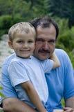 πατέρας αγοριών Στοκ εικόνα με δικαίωμα ελεύθερης χρήσης