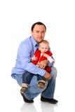 πατέρας ευτυχής Στοκ Φωτογραφίες