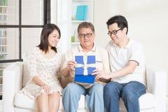 πατέρας ημέρας ευτυχής Στοκ φωτογραφία με δικαίωμα ελεύθερης χρήσης