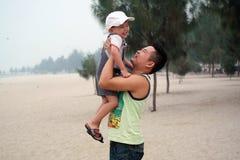Πατέρας και γιος Στοκ φωτογραφίες με δικαίωμα ελεύθερης χρήσης