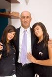 Πατέρας και κόρες Στοκ Φωτογραφία