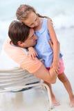 Πατέρας και κόρη Στοκ φωτογραφία με δικαίωμα ελεύθερης χρήσης