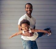 Πατέρας και παιδί Στοκ Φωτογραφίες