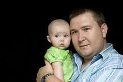 πατέρας κορών Στοκ εικόνα με δικαίωμα ελεύθερης χρήσης