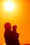 πατέρας μωρών λίγα Στοκ εικόνες με δικαίωμα ελεύθερης χρήσης
