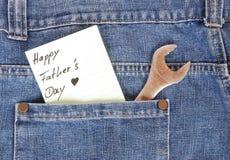 πατέρας το ευτυχές s ημέρας στοκ εικόνα