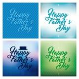 πατέρας το ευτυχές s ημέρα&sigma Στοκ Εικόνες