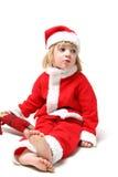 πατέρας Χριστουγέννων παι& στοκ εικόνες με δικαίωμα ελεύθερης χρήσης
