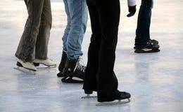 πατινάζ πάγου Στοκ Εικόνα