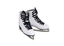 πατινάζ παπουτσιών πάγου Στοκ Εικόνες