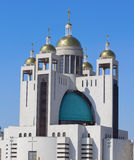 Πατριαρχικός καθεδρικός ναός της αναζοωγόνησης Χριστού Στοκ φωτογραφία με δικαίωμα ελεύθερης χρήσης