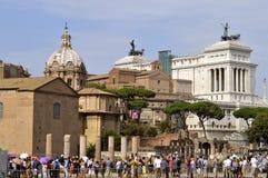 πατρική γη Ρώμη βωμών Στοκ Εικόνα