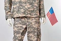 Πατριωτικός εμείς έννοια στρατιωτών στοκ φωτογραφία με δικαίωμα ελεύθερης χρήσης