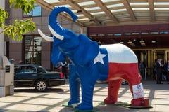 Πατριωτικός ελέφαντας Στοκ φωτογραφίες με δικαίωμα ελεύθερης χρήσης