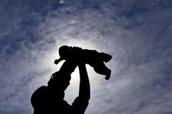 πατρότητα Στοκ Εικόνες