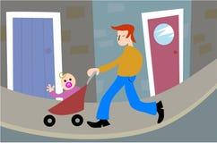 πατρότητα Στοκ Εικόνα