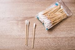 Πατσαβούρες βαμβακιού Στοκ Φωτογραφία