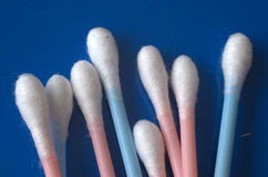 πατσαβούρες βαμβακιού Στοκ Φωτογραφίες
