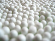 πατσαβούρες βαμβακιού Στοκ εικόνα με δικαίωμα ελεύθερης χρήσης