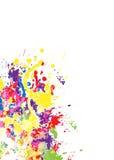 παφλασμοί χρωμάτων χρώματος Στοκ Εικόνα