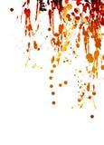 παφλασμοί χρωμάτων Στοκ Φωτογραφίες