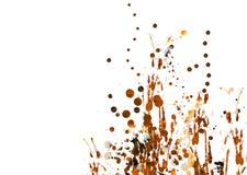 παφλασμοί χρωμάτων διανυσματική απεικόνιση