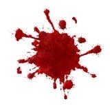 παφλασμός αίματος ανασκό&pi Στοκ φωτογραφία με δικαίωμα ελεύθερης χρήσης