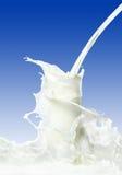 παφλασμός γάλακτος στοκ φωτογραφίες