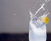 παφλασμός λεμονάδας Στοκ εικόνα με δικαίωμα ελεύθερης χρήσης