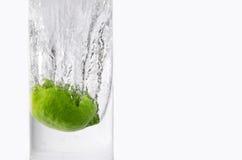 παφλασμός λεμονιών Στοκ Εικόνες