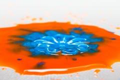 Παφλασμός χρώματος Στοκ εικόνα με δικαίωμα ελεύθερης χρήσης