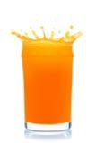 Παφλασμός χυμού από πορτοκάλι. στοκ φωτογραφία με δικαίωμα ελεύθερης χρήσης