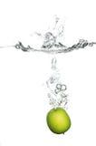 Παφλασμός Appl Στοκ εικόνα με δικαίωμα ελεύθερης χρήσης