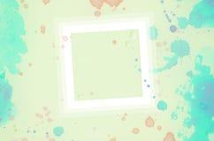 Παφλασμοί watercolor υποβάθρου Στοκ εικόνα με δικαίωμα ελεύθερης χρήσης