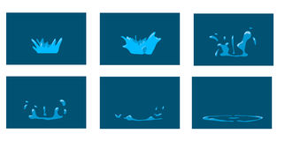 Παφλασμός ζωτικότητας Στοκ φωτογραφίες με δικαίωμα ελεύθερης χρήσης