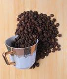 Παφλασμός καφέ Στοκ φωτογραφία με δικαίωμα ελεύθερης χρήσης